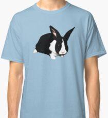 BLACK RABBIT CUTE  Classic T-Shirt