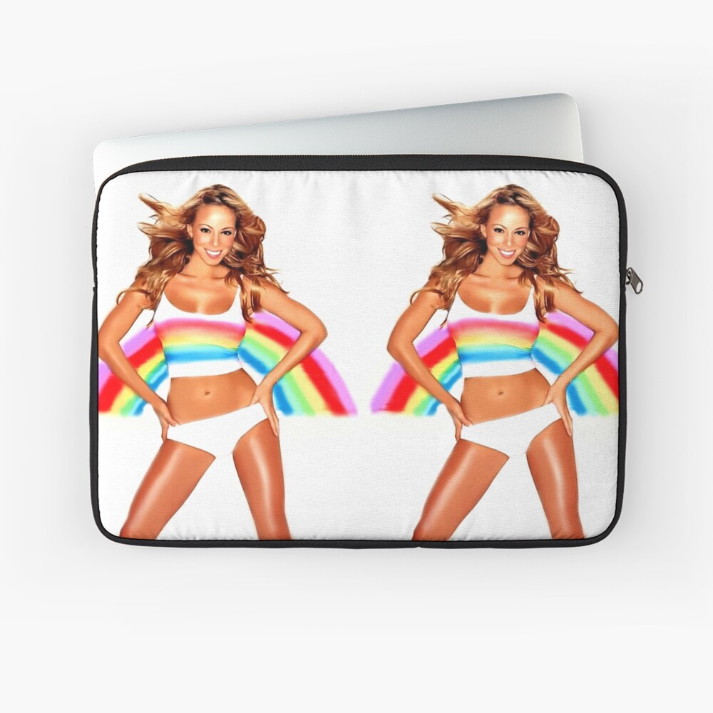 Mariah Carey Regenbogen Laptoptasche