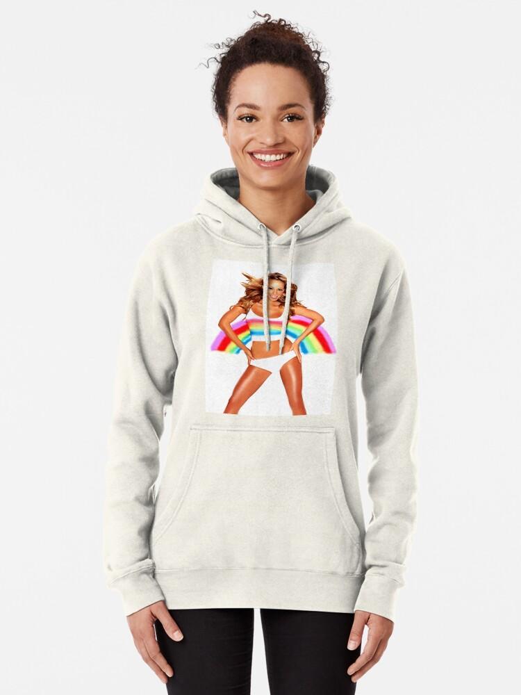 Alternative Ansicht von Mariah Carey Regenbogen Hoodie