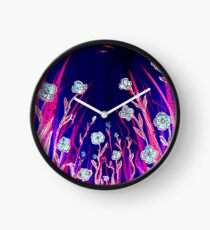 Growing Together - Flowers Clock
