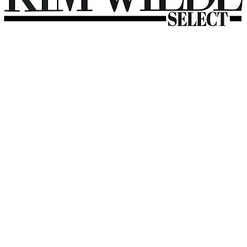 Kim Wilde Logo Select by tomastich85