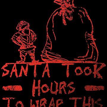 Santa takes hours! by NovaPaint