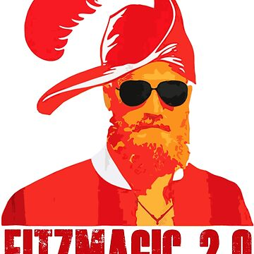 Fitzmagic 2.0 Ryan Fitzpatrick Football Tampa Florida 14 Funny T-Shirt by danny911