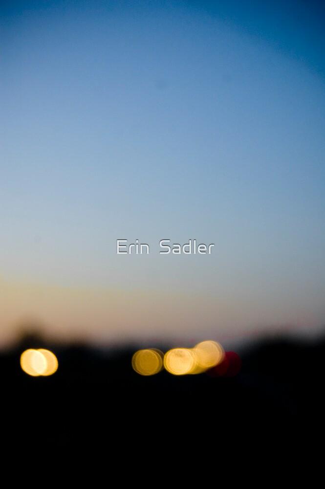 Headlights at Dusk II by Erin  Sadler