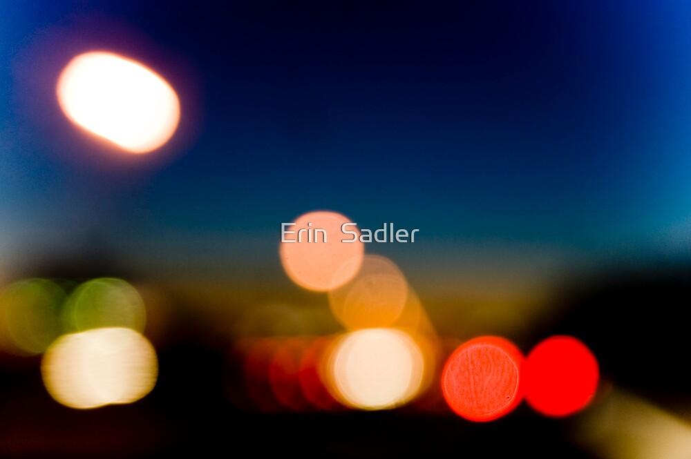 Headlights at Dusk by Erin  Sadler