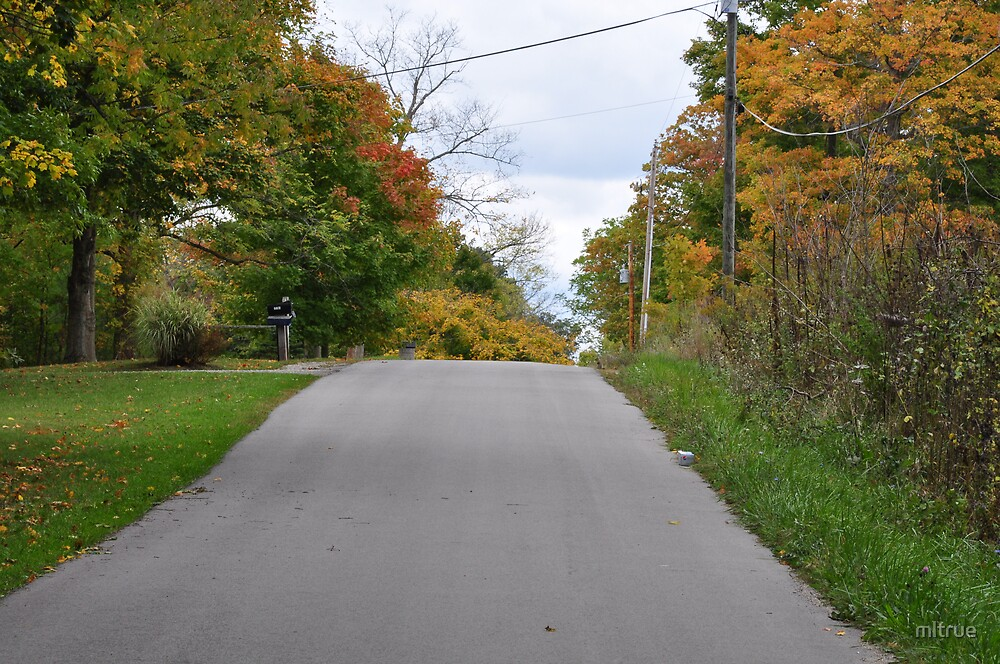My Road In October by mltrue