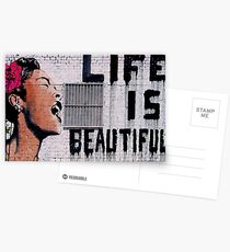 Postales ¡La vida es bella!