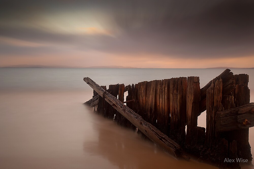 Jetty Ruins by Alex Wise