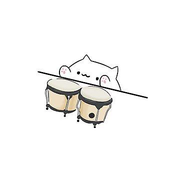 Bongo Cat Meme  by Barnyardy