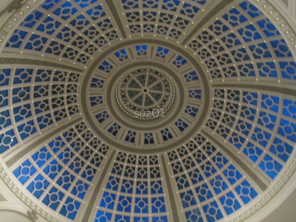 Blue Dome by suz01
