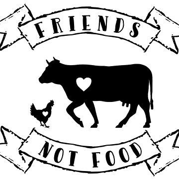Friends Not Food by nimm