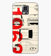 1963 Ford Galaxie 500 Blueprint Artwork Case/Skin for Samsung Galaxy