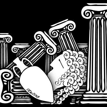 Ancient Greek Fall by cartoonblog