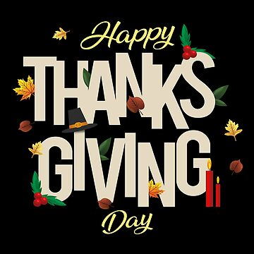 Happy Thanksgiving Day by SmartStyle