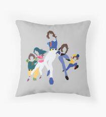Gatchaman Throw Pillow