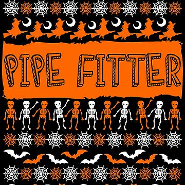 Cool Pipe Fitter Ugly Halloween Gift t-shirt by BBPDesigns