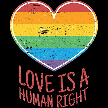 Love is a human right by anziehend