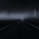 Never stop the car on a drive in the dark. by Mika Suutari