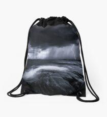 Black  Waters. Drawstring Bag