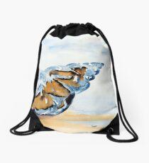 The Glass Shell Drawstring Bag