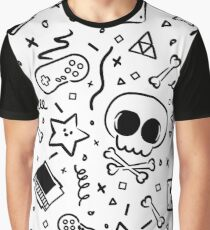 Lluksy Retro Gamer Graphic T-Shirt