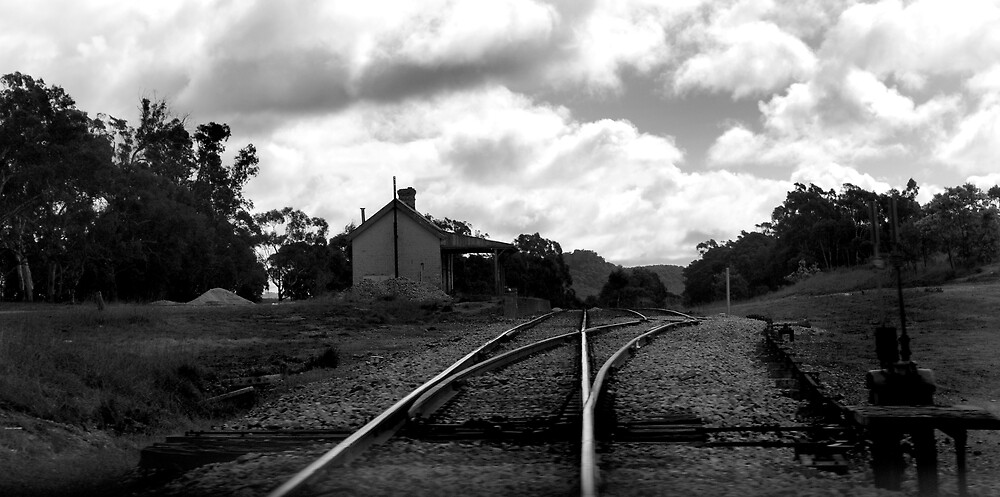 Cullen Bullen Railway Station by Peta Jade