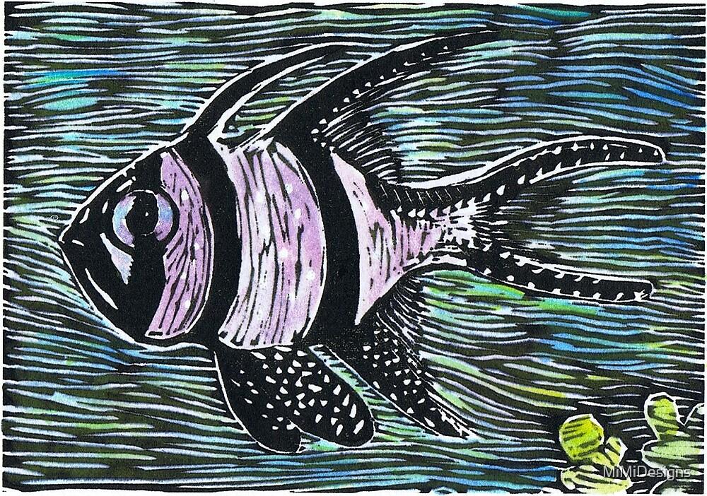 Postcards for the Reef 5: Banggai Cardinalfish by MiMiDesigns