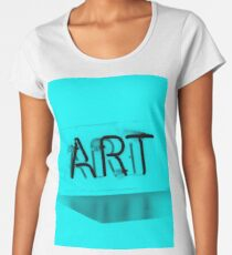 Art Neon Women's Premium T-Shirt