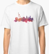 New York city Skyline red Classic T-Shirt