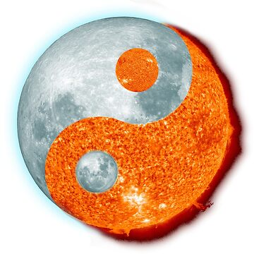 Sun and Moon Yin Yang Yoga Martial Arts by peaktee