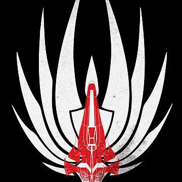 Battlestar Galactica Viper by CreativeSpero