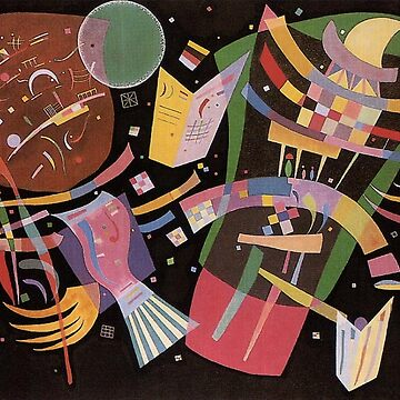 Wassily Kandinsky, Composition X  by TOMSREDBUBBLE