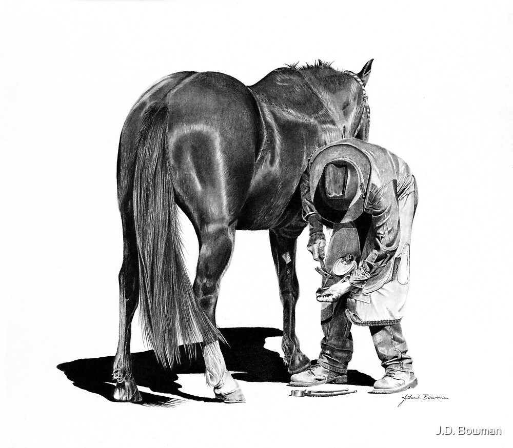 Rodeo Ferrier by J.D. Bowman