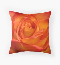 Apricots & Peaches Throw Pillow