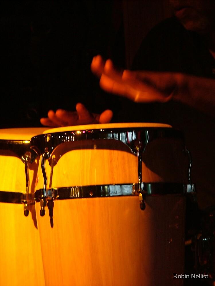 Drummer's hands by Robin Nellist