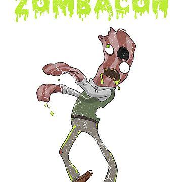 Halloween Zombie Bacon by frittata
