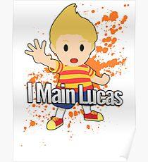 I Main Lucas - Super Smash Bros. Poster