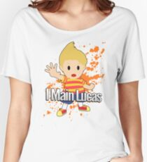 I Main Lucas - Super Smash Bros. Women's Relaxed Fit T-Shirt
