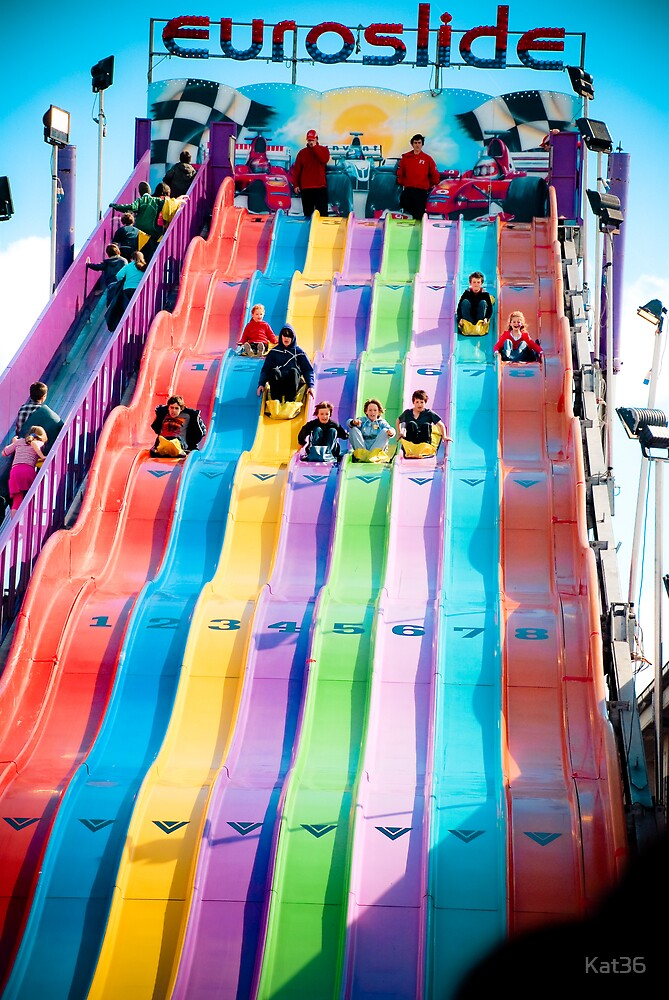 Giant Slide - Royal Melbourne Show 2009 - series by Kat36