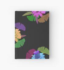 Dark floral Hardcover Journal