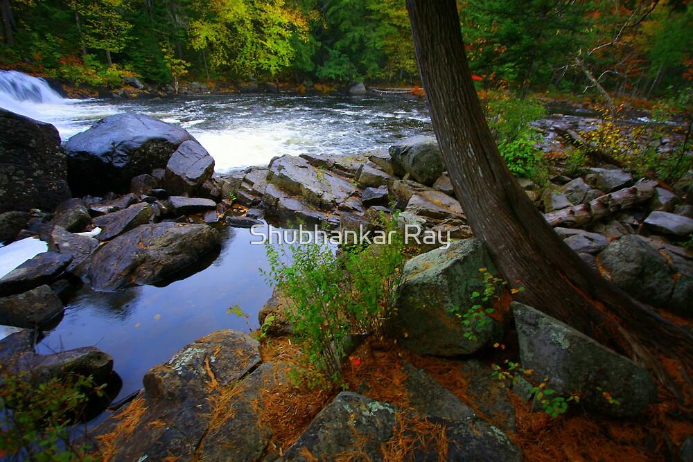 Buttermilk Falls, NY by Shubhankar Ray