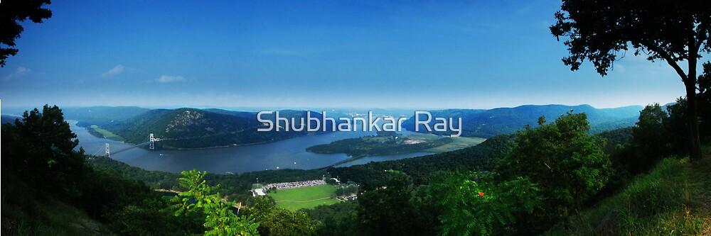 Hudson River from Bear Mountain by Shubhankar Ray