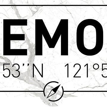 The longitude and latitude of Fremont by efomylod