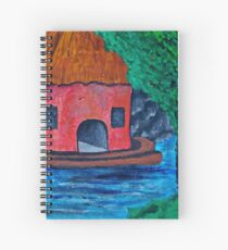 Angling for something Spiral Notebook