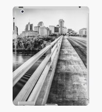 Road to Nashville in Black and White iPad Case/Skin