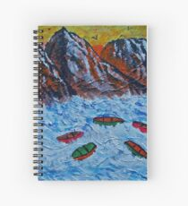Abandoned Boats Spiral Notebook