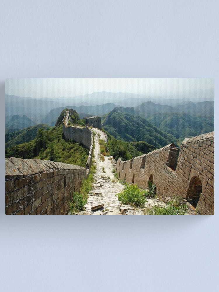 Alternate view of The Great Wall Canvas Print