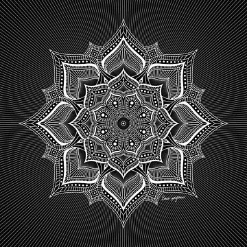 """February Mandala 18"", by Brock Springstead by springstead"