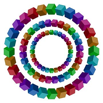 Circles illusion by psychoshadow