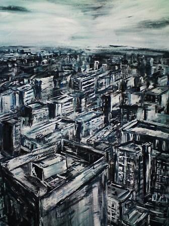 Conrad Bo Cityscape by Conrad Bo